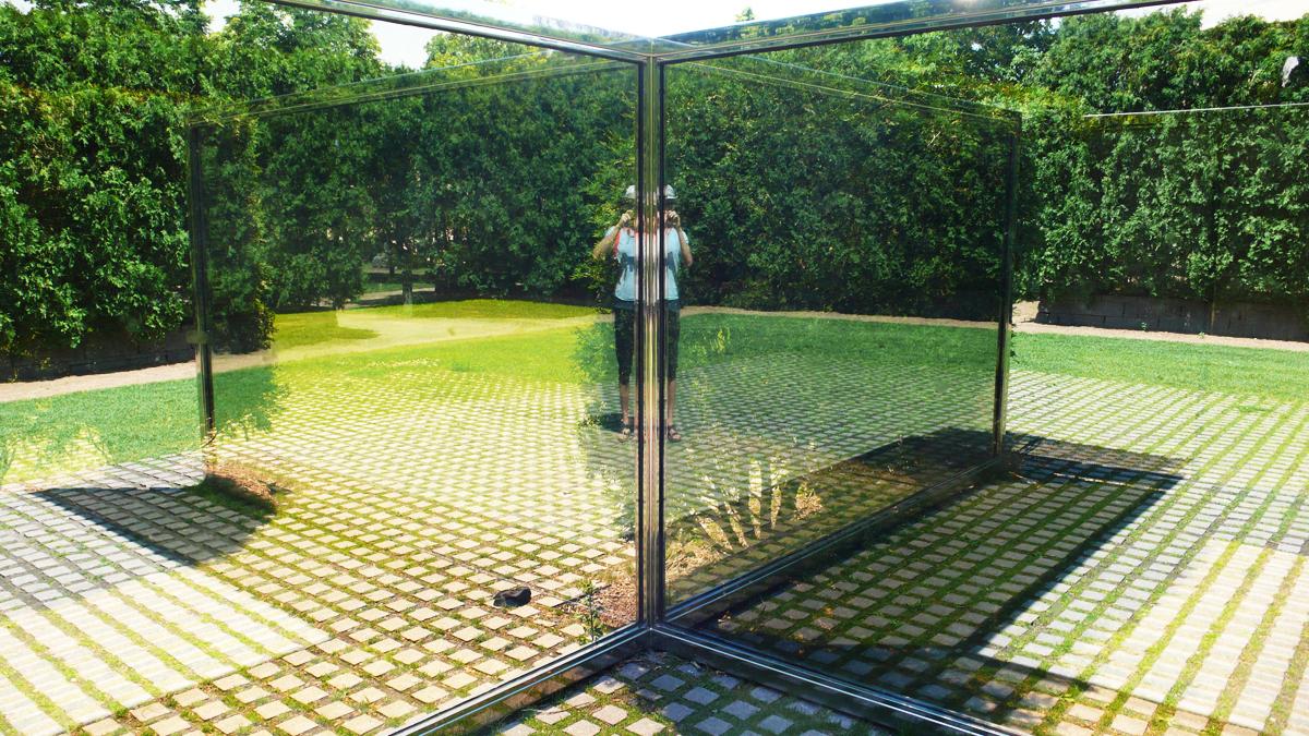 Dan graham sculpture walker art center sculpture garden - Walker art center sculpture garden ...