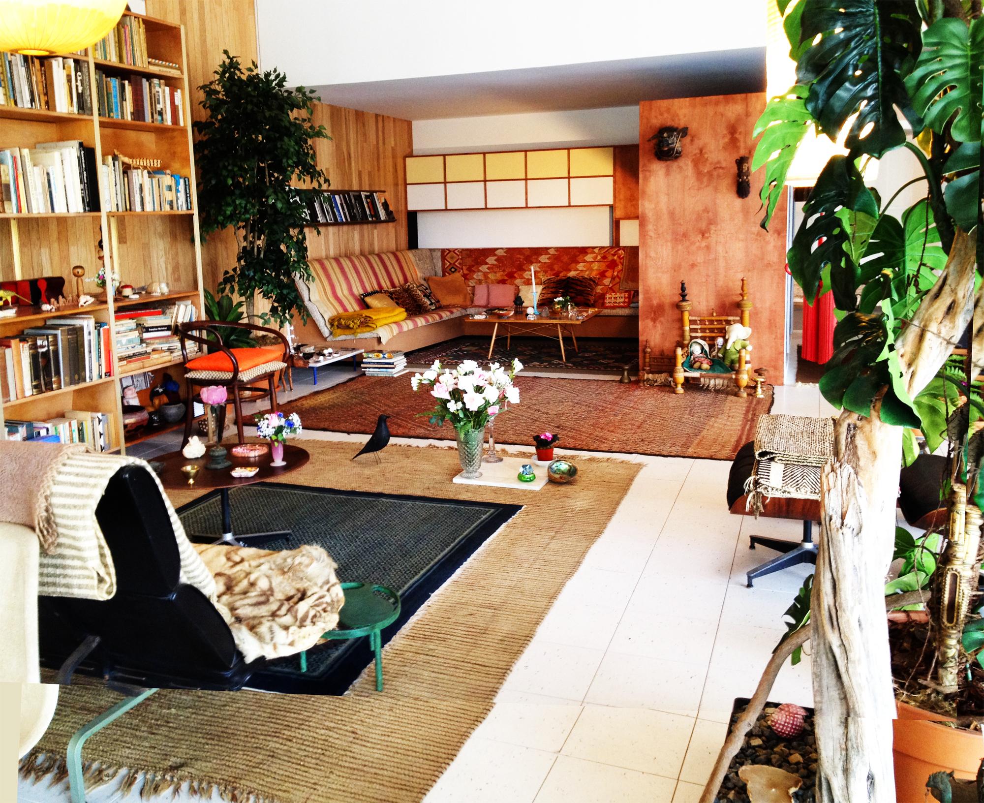 Eames LA living room Eames, Room, Living room