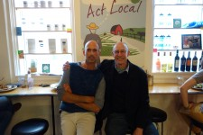 breakfast with Michael at Birchwood