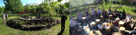 the first Foraging Circle gathering