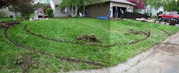 dirt circles in Woodbury