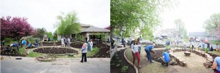 planting day at Edible Estate #15