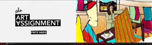 The Art Assignment video, featuring  Helio Oiticica's Parangolés