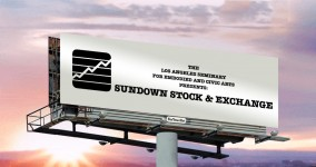 Sundown Stock & Exchange at For Your Art