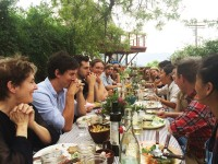 Seminary lunch on August 2nd with special guests Alice Waters, Peter Sellars, Christina Kim and Sean Starowitz