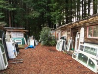 Albion Doors and Windows in the redwoods